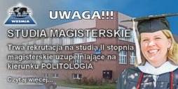 Studia magisterskie