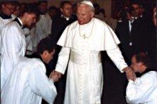 Wizyta piepieża Jana Pawła II
